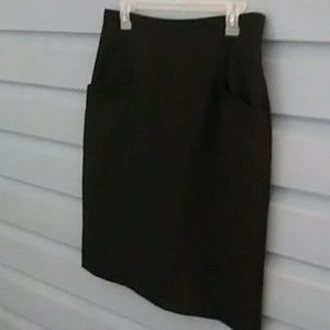 Women's skirt size 12, the limited black